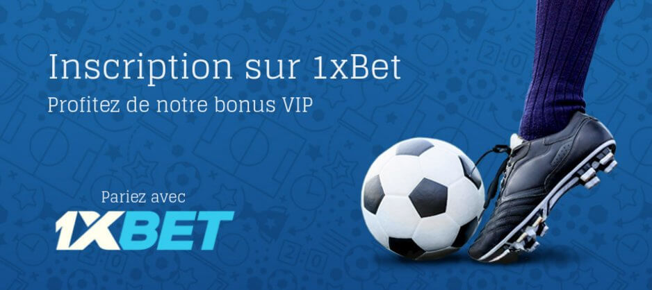 1xBet inscription