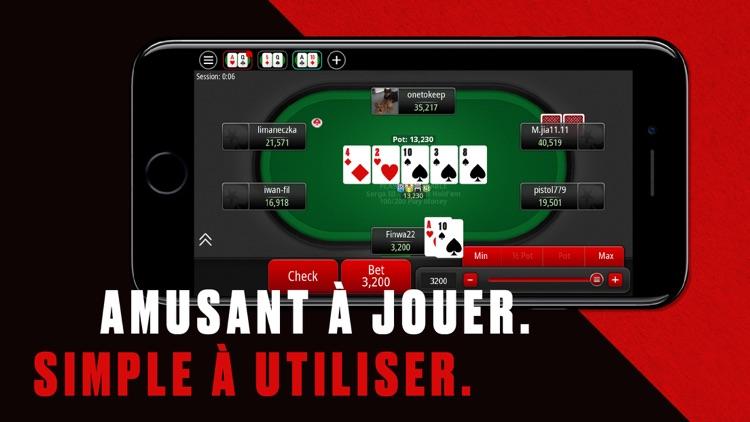 poker sur Betclic mobile