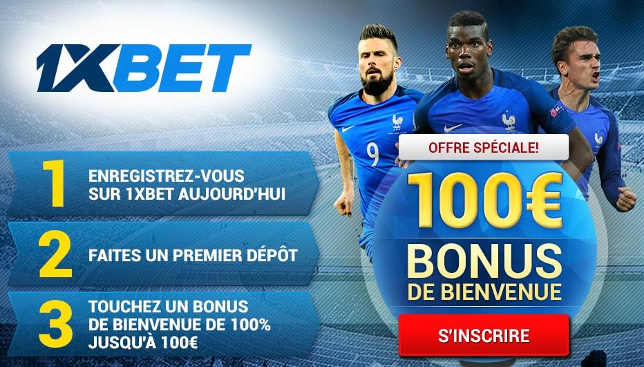 bonus 1xBet Benin