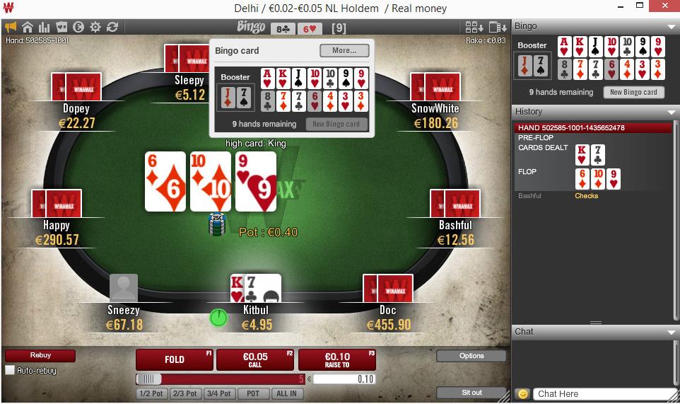 Winamax poker et paris sportifs